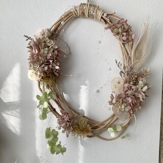 【Mother's May♡】mitsuri color wreathe(ドライフラワー)