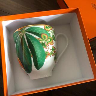 エルメス(Hermes)のエルメス 新期 花草 マグカップ(食器)