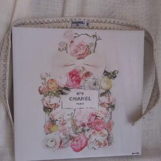 シャネル(CHANEL)のCHANELの水色系ツィードスカートのベルトのみ(ベルト)