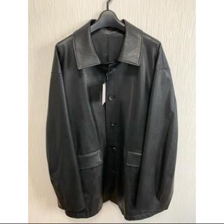 COMOLI - stein 21ss フェイクレザーカージャケット