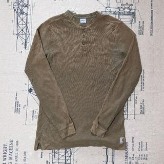 カーハート(carhartt)のcarhartt ポロシャツ ベージュ S ビンテージ カーハート メンズ(ポロシャツ)