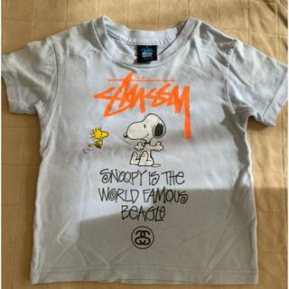 ステューシー(STUSSY)のステューシー キッズ tシャツ 90 スヌーピー(Tシャツ/カットソー)