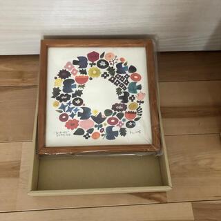 イデー(IDEE)のBIRDS' WORDS バーズワーズ 20 リース 額装タイプ 木製 ポスター(その他)