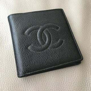 シャネル(CHANEL)の定番゚・*:.。. .。.:*・゜シャネル 二つ折りウォレット(折り財布)