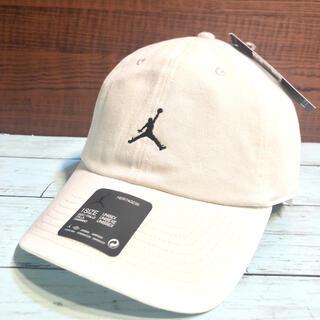 NIKE  ナイキ ジョーダン キャップ帽子 ◆ジャンプマン x ロゴ◆白 新品