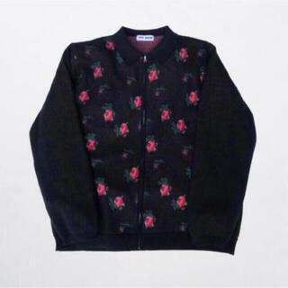 ジョンローレンスサリバン(JOHN LAWRENCE SULLIVAN)のttt_msw 20aw flower knit polo(ニット/セーター)