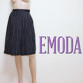 エモダ(EMODA)のキレカジ♪エモダ お出かけプリーツ ミディアムスカート♡ムルーア マウジー(ひざ丈スカート)