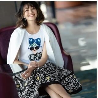 エムズグレイシー(M'S GRACY)の2021年 エムズグレイシー カタログ掲載色違いカットソー40新品タグつき(Tシャツ(半袖/袖なし))