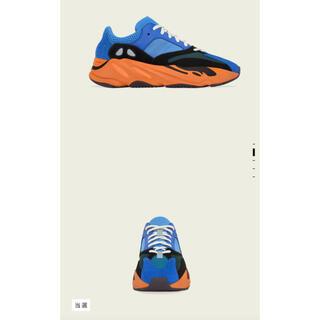 アディダス(adidas)のYEEZY BOOST 700 BRIGHT BLUE 正規品(抽選当選品)(スニーカー)