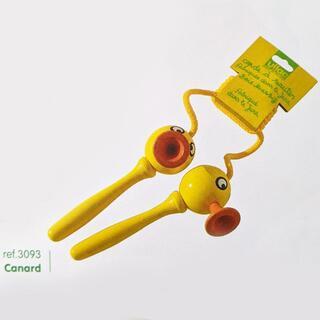 ヴィラック(vilac)のフランス木製玩具 Vilac (ヴィラック) アヒルの縄跳び(その他)