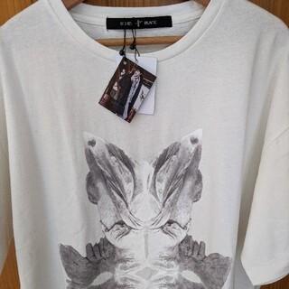 ノーアイディー(NO ID.)のno id. wing プリント Long T(Tシャツ/カットソー(半袖/袖なし))
