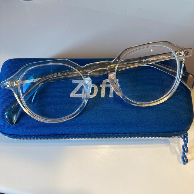 Zoff(ゾフ)のZoff クリアメガネ レディースのファッション小物(サングラス/メガネ)の商品写真