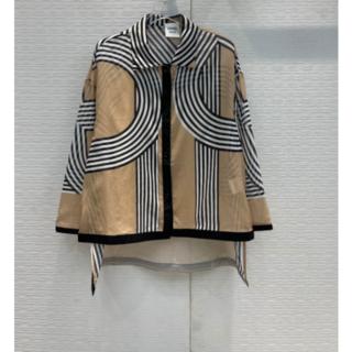 エルメス(Hermes)のキャミ付き2枚セット Hermes サーキット24フォーブール  コットンシャツ(シャツ/ブラウス(長袖/七分))