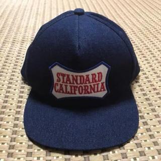 スタンダードカリフォルニア(STANDARD CALIFORNIA)の新品スタンダードカリフォルニア デニム キャップ ロンハーマン(キャップ)