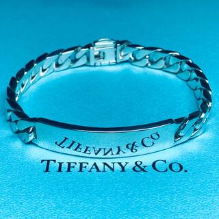 Tiffany & Co. - VINTAGE TIFFANY ヴィンテージ ティファニー ID ブレスレット