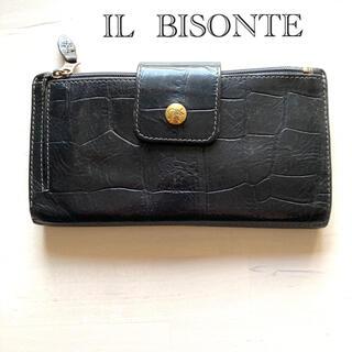 IL BISONTE - イルビゾンテ 長財布 クロコダイル 財布 ウィメンズ