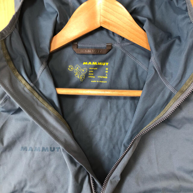 Mammut(マムート)のマムート MAMMUT メンズ ウインドブレーカー メンズのジャケット/アウター(マウンテンパーカー)の商品写真