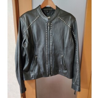 ハーレーダビッドソン(Harley Davidson)のハーレーダビッドソン スタッズ ライダースジャケット (ライダースジャケット)