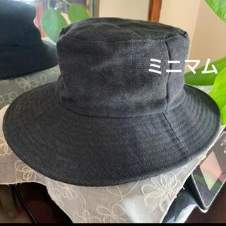 MINIMUM - MINIMUM ミニマム ハット 帽子 黒 ワールド