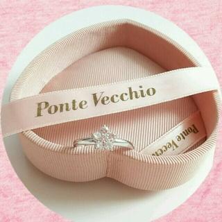 ポンテヴェキオ(PonteVecchio)のポンテヴェキオ☆フラワー☆リング(リング(指輪))