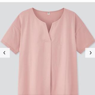 ユニクロ(UNIQLO)のマーセライズコットン キーネックT(Tシャツ(半袖/袖なし))