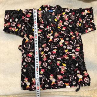 ディズニー(Disney)の甚平 パジャマ 浴衣 130   ミニー柄 ディズニー(甚平/浴衣)