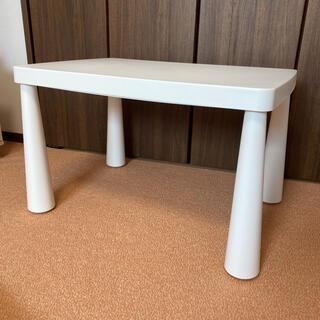 イケア(IKEA)のIKEA イケア MAMMUT マンムット テーブル(コーヒーテーブル/サイドテーブル)