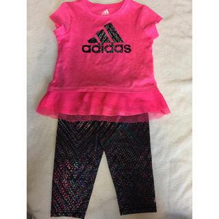 アディダス(adidas)のadidas ジャージ 女の子 24m(Tシャツ)