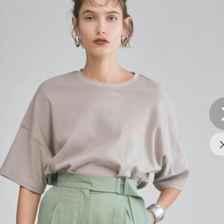ミラオーウェン(Mila Owen)のミラオーウェン ロゴTシャツ(カットソー(半袖/袖なし))