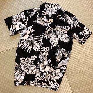 シマムラ(しまむら)のアロハシャツ 半袖シャツ メンズ Lサイズ(シャツ)