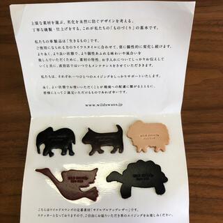 WHITEHOUSE COX - 【未使用】ワイルドスワンズ レザー ステッカー