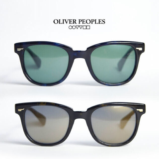 Ron Herman - OLIVER PEOPLES  Masek-J ブラックブラウン