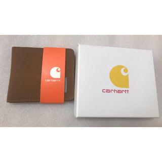 carhartt - カーハート Carhartt二つ折り財布 キャラメル おまけの箱付き