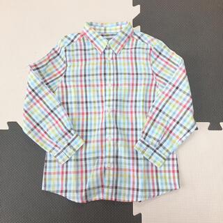 ボンポワン(Bonpoint)のボンポワン チェックシャツ(ブラウス)