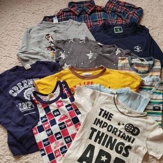 130 ◆中古◆トップス11枚◆(Tシャツ/カットソー)