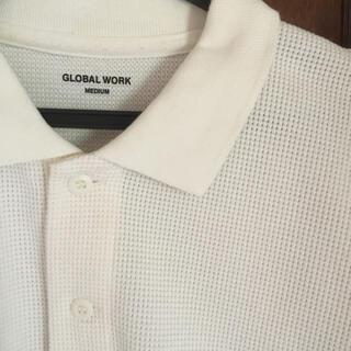 グローバルワーク(GLOBAL WORK)のグローバルワーク ワッフルポロシャツ(ポロシャツ)