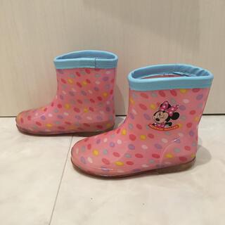 ディズニー(Disney)のミニー長靴 16㎝(長靴/レインシューズ)