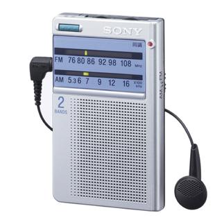 ソニー(SONY)のSONY ポータブルラジオ  ICF-T46(ラジオ)