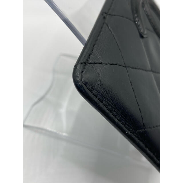 CHANEL(シャネル)の【正規品】CHANEL/シャネル パスケース カンボンライン ラムスキン レディースのファッション小物(名刺入れ/定期入れ)の商品写真