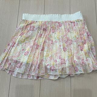 ジーユー(GU)のGU キュロットスカート 子ども用 150(スカート)