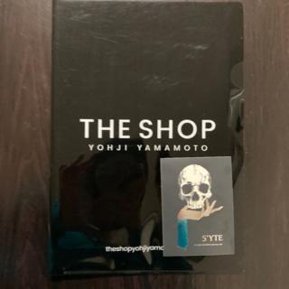 Yohji Yamamoto - ヨウジヤマモト クリアファイル s'yte ステッカー