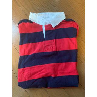 スピンズ(SPINNS)のラガーシャツ(Tシャツ(半袖/袖なし))