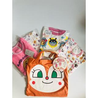 アンパサンド(ampersand)の【新品】女の子パジャマなど服6点セット80(パジャマ)