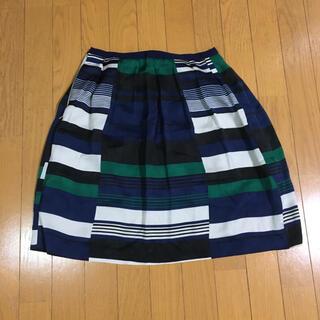 エル(ELLE)のレディーススカート イトキン ELLE(ひざ丈スカート)