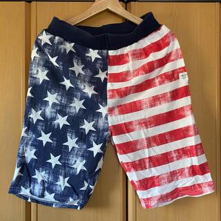 シマムラ(しまむら)のアメリカ 星条旗 ハーフパンツ(ショートパンツ)