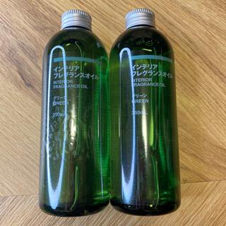 ムジルシリョウヒン(MUJI (無印良品))のMUJI 無印良品 インテリアフレグランスオイル グリーン(アロマオイル)