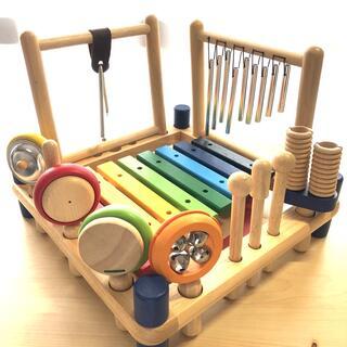 木製楽器のおもちゃ(楽器のおもちゃ)