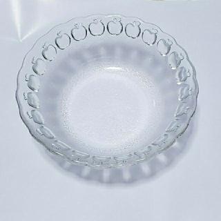 トウヨウササキガラス(東洋佐々木ガラス)の【新品、未使用】フルーツ皿 佐々木ガラス(食器)
