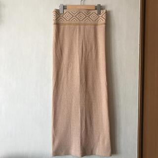 マメ(mame)のMame Kurogouchi 2018ssタイトスカート(ロングスカート)