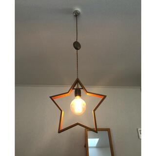 ウニコ(unico)のDOUBLEDAY(ダブルデイ)スター 調整リール付きオシャレ照明器具(天井照明)